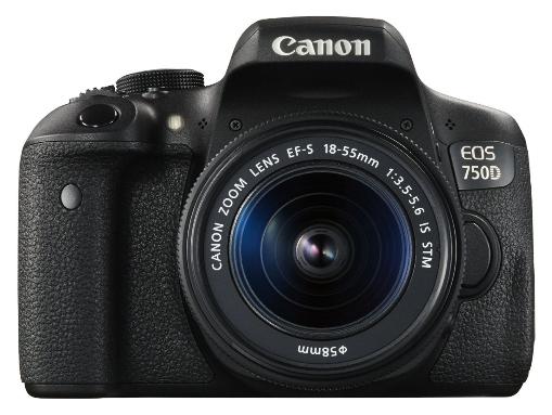 Appareil Photo Canon EOS 750D + Objectif 18-55mm EF-S IS STM