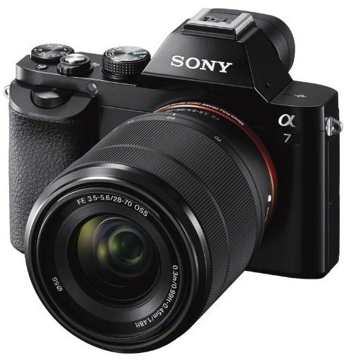 Appareil photo Sony Alpha 7K avec zoom Sony 28-70mm f/3.5-5.6 OSS FE