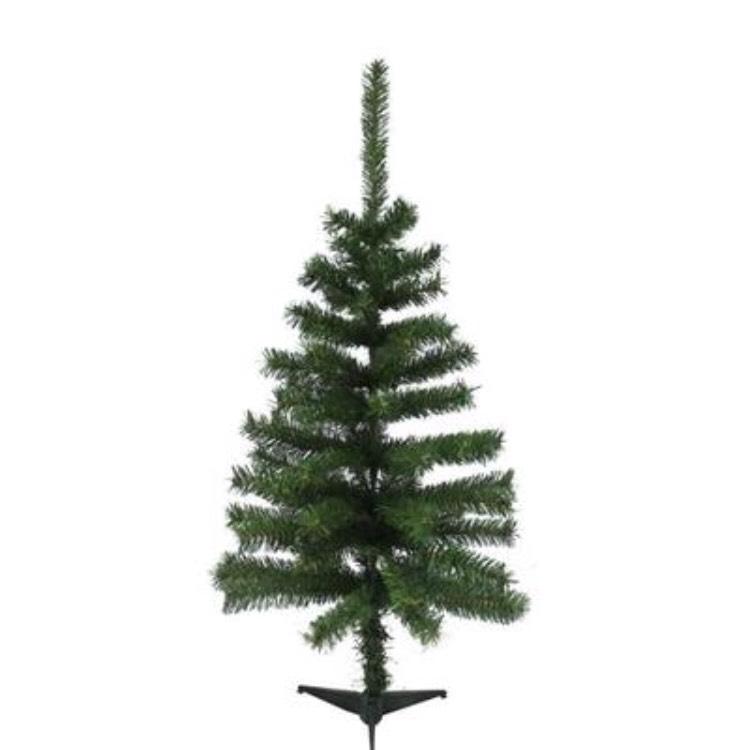 Sapin de Noël Artificiel Vert (80 branches) - 90 cm