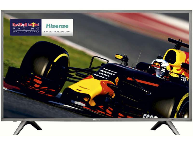 """TV LED 55"""" Hisense H55N5700 - UHD 4K HDR10, Dalle VA + Bon d'achat de 100€ (Via ODR 60€)"""