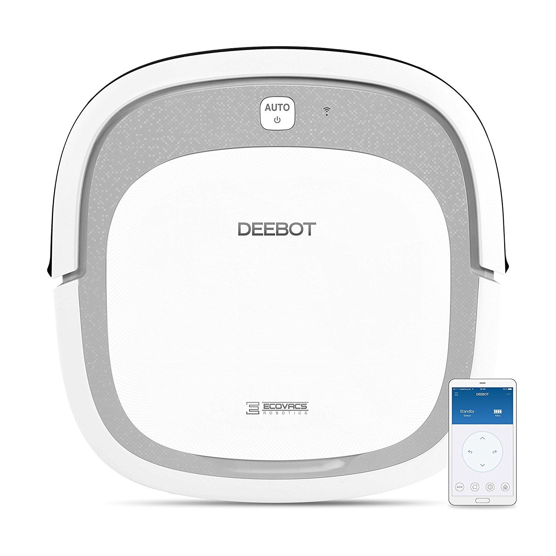 Robot Aspirateur Ultra Plat Ecovacs Robotics Deebot Slim 2 - Argent / Blanc