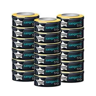 Pack de 18 recharges pour poubelles à couches Sangenic TEC