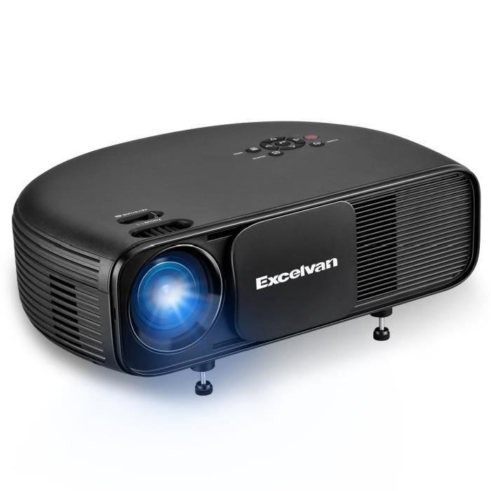 Projecteur Excelvan CL760 Newly Semicircle Design - 3200 lumens, 1280x800, LED