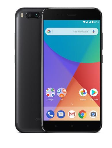"Smartphone 5,5"" Xiaomi Mi A1 Noir - Full HD, Snapdragon 625, RAM 4 Go, ROM 32 Go (Avec B20)"