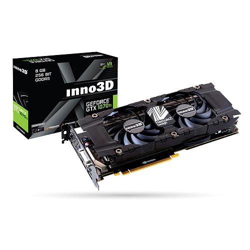Carte Graphique INNO3D GeForce GTX 1070 Ti TWIN X2