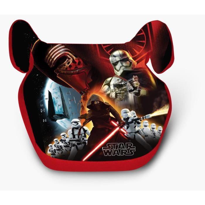 Sélection de rehausseurs Disney  en promo - Ex : Rehausseur de voiture Groupe 2/3 15-36 kg - Star Wars