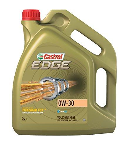 Huile moteur essence ou diesel Castrol Edge Titanium 0W30 en bidon de 5 litres (frais de port inclus)
