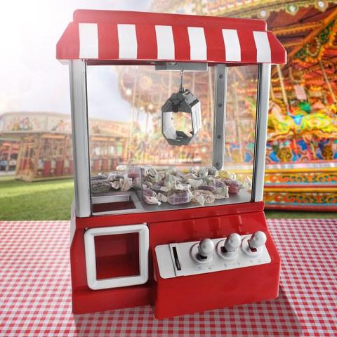 Machine à pince pour bonbons ou jouets