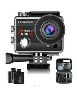 Action Cam Campark ACT74 - 4K/1080P WiFi 16MP Ultra HD (vendeur tiers)