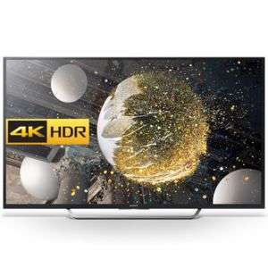 "TV 65"" Sony KD65XD7505BAEP - 4K UHD, LED, smart TV"