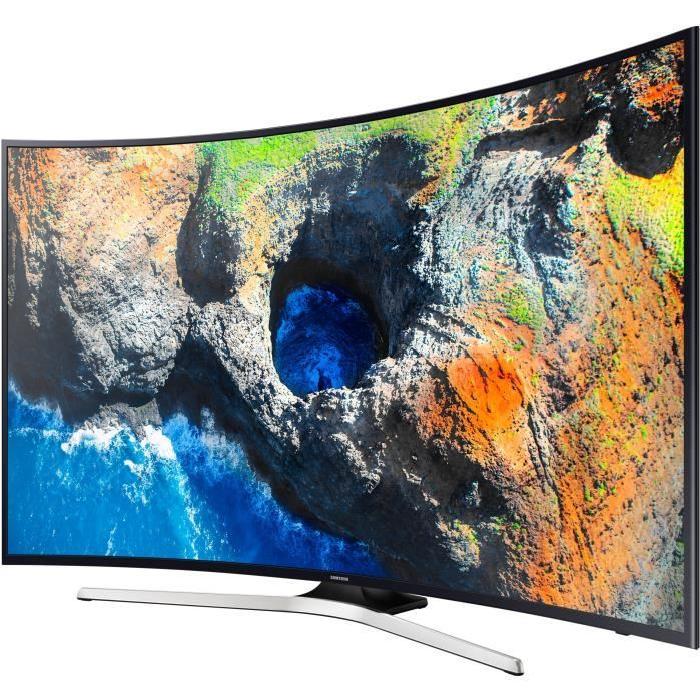 "TV 55"" Samsung UE55MU6272UXXH - LED, 4K UHD, Incurvée, Smart TV"