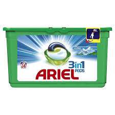 Ariel 3en1 Pods Alpine x35 - 0,994 L (via 7.91€ sur la carte)