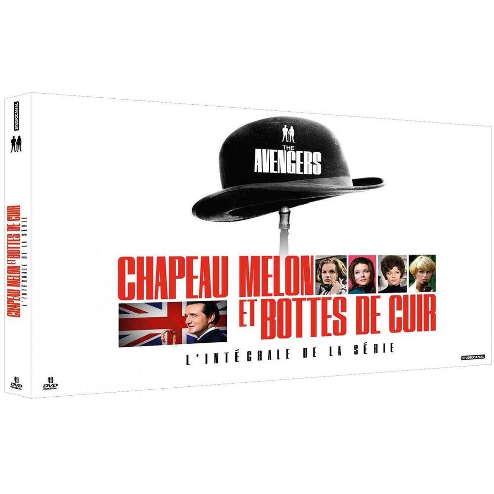 Coffret DVD integrale de chapeau melon et bottes de cuir
