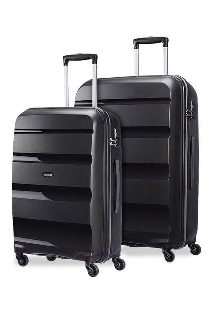 Set de 2 valises American Tourister Spinner 66cm & Spinner 75cm Noir