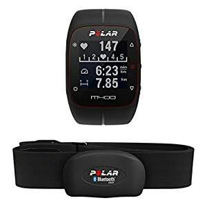 Montre GPS Polar M400 - Noir + Ceinture cardiofréquencemètre