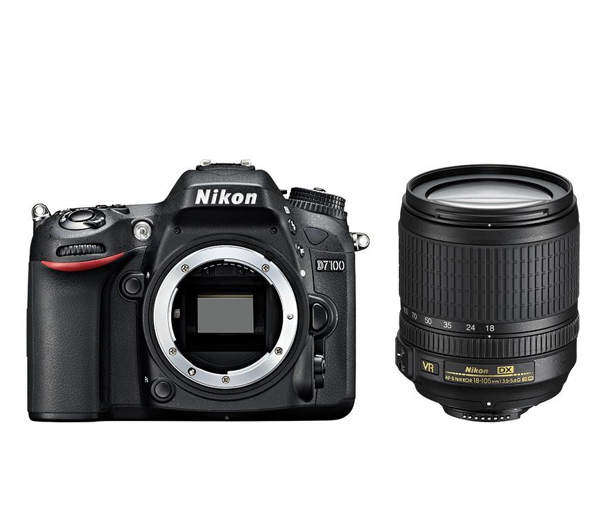 Reflex Nikon D7100 - DX 18-105 VR