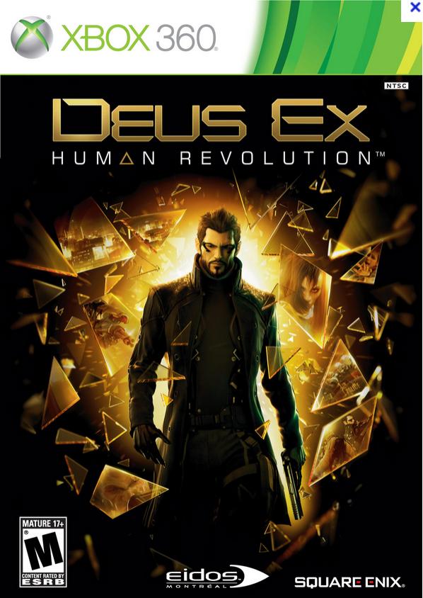 [Abonnés Gold] Jeu Deus EX : Human Revolution sur Xbox 360 (Dématérialisé)