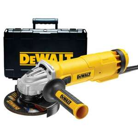 Meuleuse d'angle DeWalt DWE4237K-QS - 1400 W en déstockage