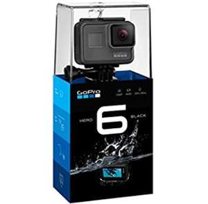 Caméra Gopro Hero 6 black (+41.80€ en superpoints)