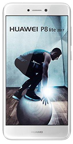 "Smartphone 5.2"" Huawei P8 Lite version 2017 - 16 Go - Double Nano-SIM - Android 7.0 Nougat - Blanc"