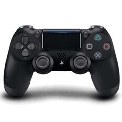 Manette de jeu Sony PS4 DualShock 4 (V2) - noir + Câble de jeu et de charge GAMEware