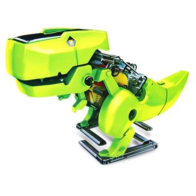 Jouet Robot T-Rex Solaire T4 en kit à construire