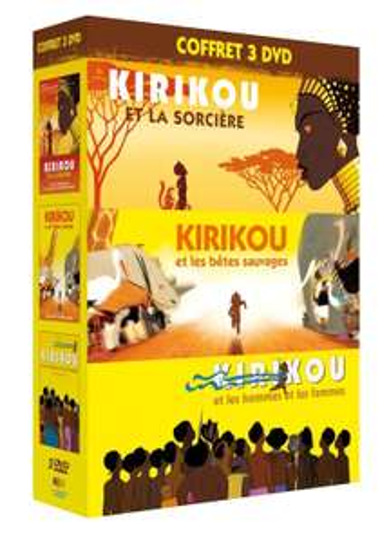 Coffret DVD Trilogie Kirikou