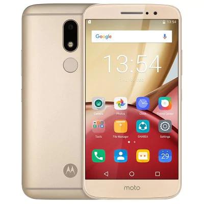 "Smartphone 5.5"" Motorola Moto M (IPS FHD, Android 6.0, Helio P15  2,2 GHz, 4Go RAM, 32Go ROM, 4G - Sans B20)"