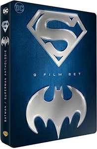 Coffret DVD Batman / Superman 9 films