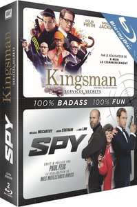 Coffret Blu-ray Kingsman: Services Secrets + Spy