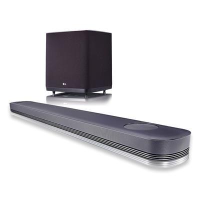 Barre de Son 5.1.2 LG SJ9 Noir avec Subwoofer Sans-fil - Dolby Atmos (Frontaliers Suisse)