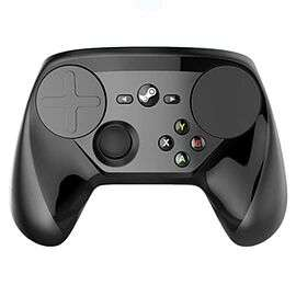Manette Sans-fil Steam Controller compatible Steam Link & PC - Noir