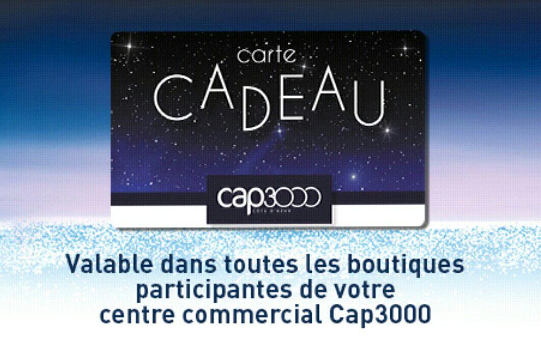 Rosedeal : 30€ à dépenser dans toutes les boutiques du centre commercial Cap 3000 - Saint-Laurent-du-Var (06)