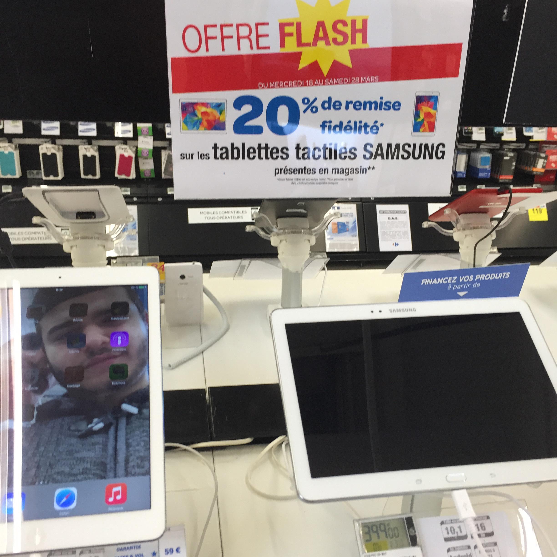 20% de remise fidélité sur toutes les tablettes Samsung