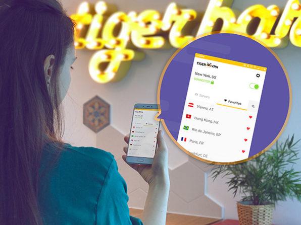 Licence à vie TigerVPN