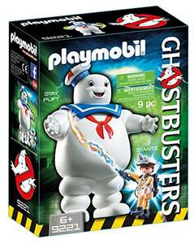 Playmobil 9221 - Fantôme Stay Puft et Stantz