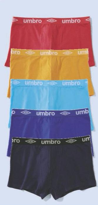 Lot de 5 boxers Umbro