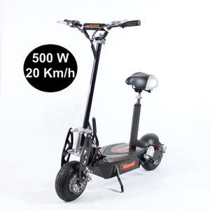 Trottinette Tendance Design 500W Plomb