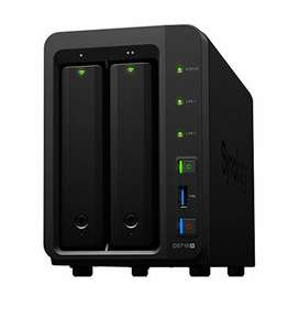 Boîtier NAS Synology DS718+ 2 baies