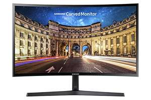 "Écran PC incurvé 24"" Samsung C24F396FH - full HD, 1920x1080, LCD VA, 4 ms, FreeSync"