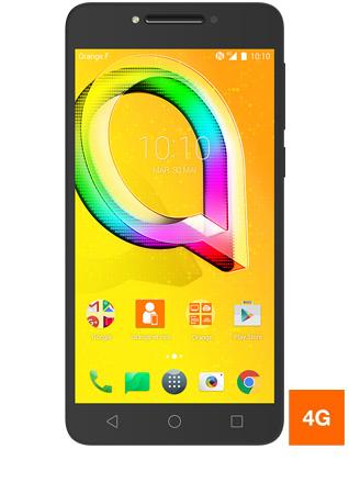 """Smartphone 5.2"""" Alcatel A5 LED - 2 Go de RAM, 16 Go (via ODR de 100€)"""