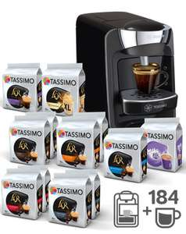machine caf tassimo suny t32 184 boissons 65 ou tassimo vivy t12 160 boissons. Black Bedroom Furniture Sets. Home Design Ideas