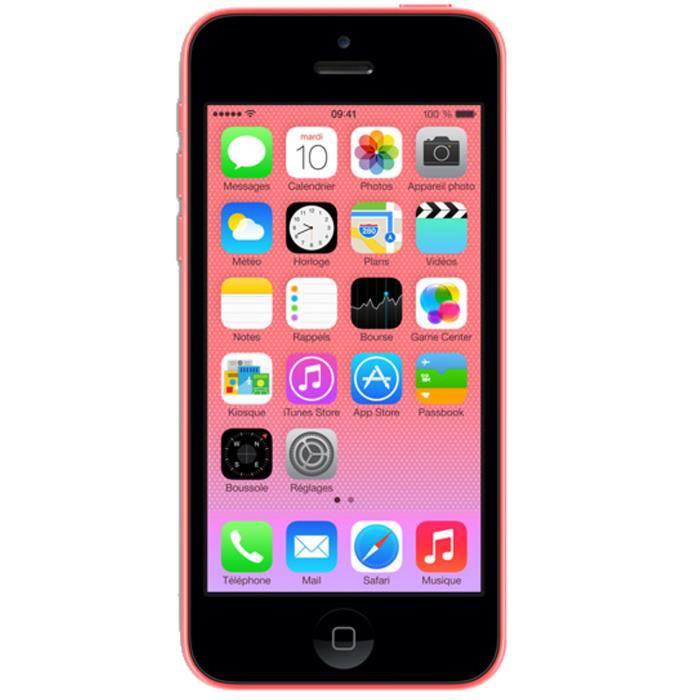Apple iPhone 5C Rose 32 Go