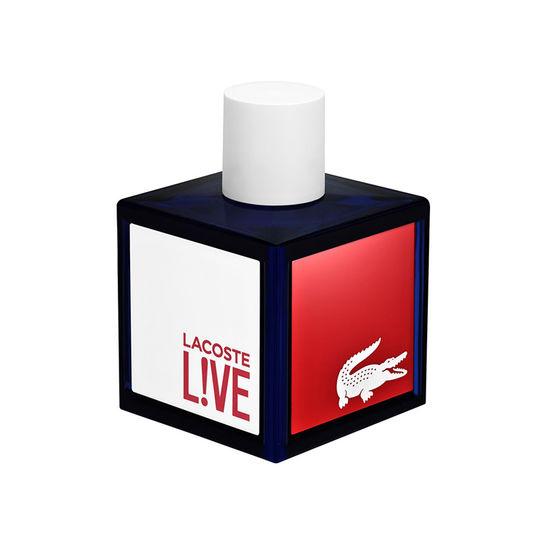 Eau de toilette Lacoste L!ve - 100ml + cadeau pochette Lacoste(Femme)