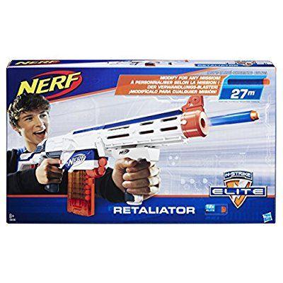 Jouet Nerf 98696EU40 - Elite Retaliator XD + Hand Spinner