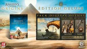 Assassin's Creed Origins Édition Deluxe sur PS4 ou Xbox One