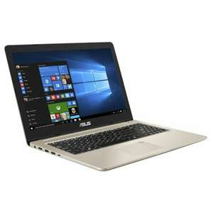 "PC Portable 15.6"" Asus VivoBook Pro N580VD-FI033T- UHD 4K, i7-7700HQ, RAM 16Go, SSD 256 Go + 1To, GTX 1050 4Go, Windows 10"