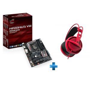 Sélection de Produits en Promotion - Ex: Carte Mère Asus Maximus VIII Ranger (Socket 1151) + Casque Audio Siberia 200 (Rouge)