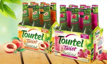 Pack de 6 bières sans-alcool Tourtel Twist Agrumes ou Framboise (via BDR)