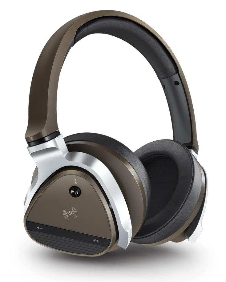 Casque sans fil Creative ANC haut de gamme + Écouteurs Intra-auriculaires Creative Hitz MA500 Blanc